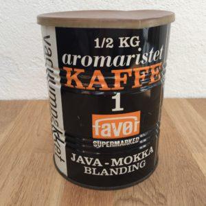 Kaffedåse fra Favør med Java - Mokkablanding