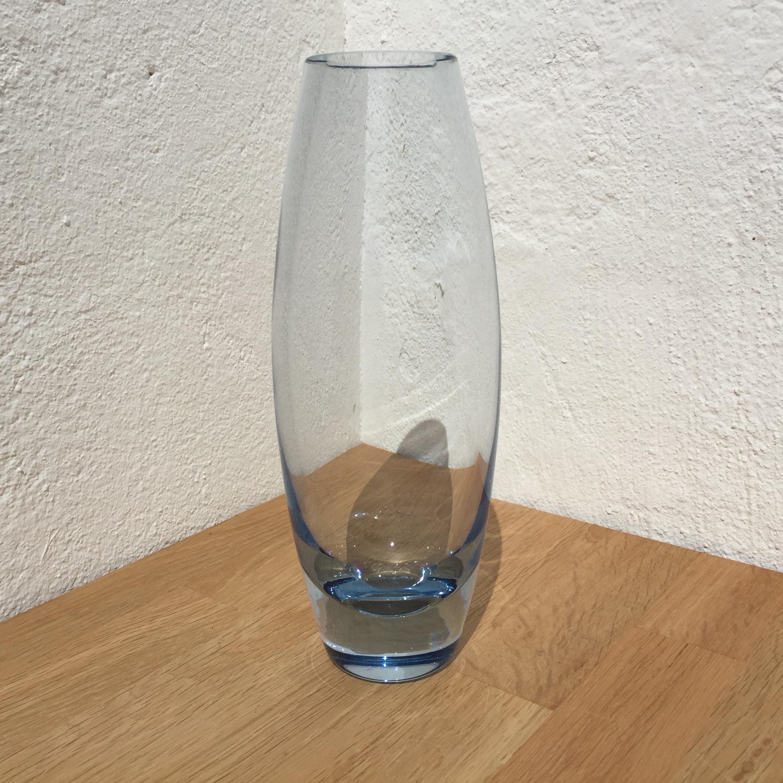 Holmegaard Hellas akua glas vase skål - Design af Per Lutken nr. 15391