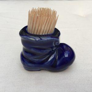 keramik støvle til tandstikker