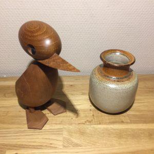Gunni Nordstrøm Keramikvase Signeret