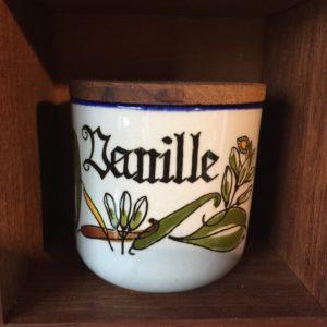 Knabstrup Vanille krydderikrukker pernilleserien