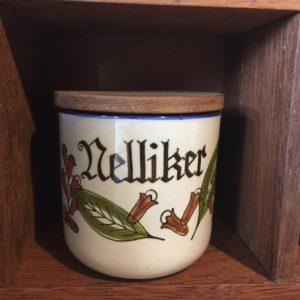 Knabstrup Nelliker krydderikrukke pernilleserien