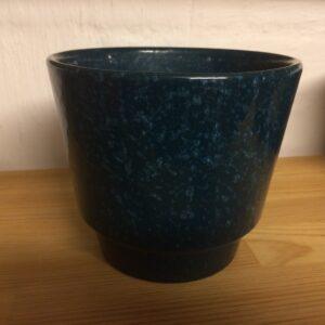 Knabstrup urtepotte blå